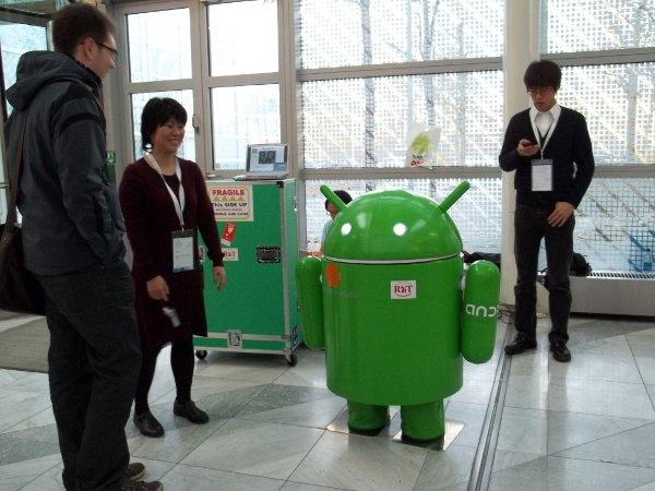 large Android robot